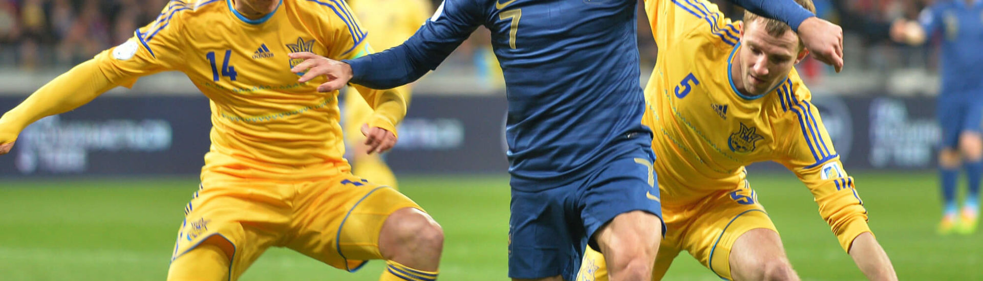 Ukranian Football Fans Arrested at Iceland- Ukraine Match Last Night