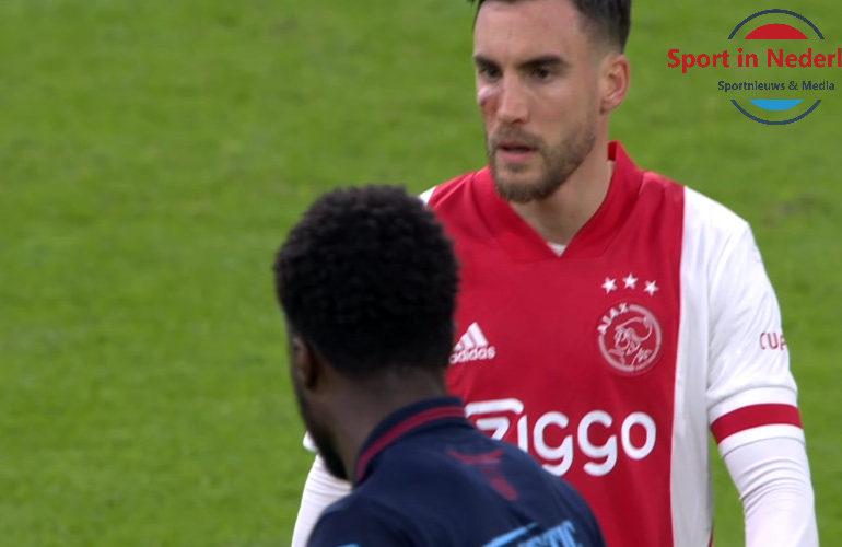 Nicolas Tagliafico mist AZ - Ajax wegens oogblessure