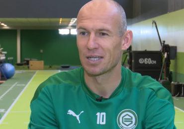 FC Groningen wil verder met Arjen Robben