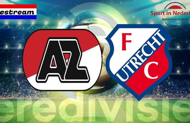 Eredivisie livestream AZ Alkmaar - FC Utrecht