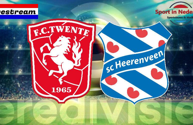 Eredivisie livestream FC Twente - SC Heerenveen