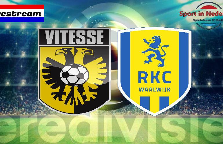 Eredivisie livestream Vitesse - RKC Waalwijk