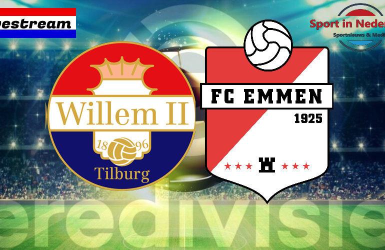 Eredivisie livestream Willem II - FC Emmen