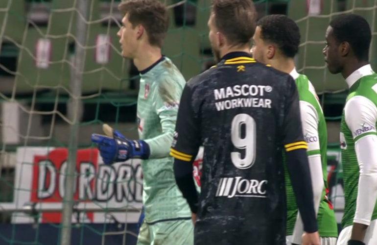 Roda JC wint met ruime cijfers bij Dordrecht
