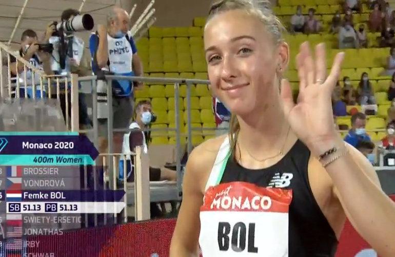 Opnieuw Nederlands record voor Bol op 400 meter