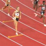 Femke Bol loopt opnieuw Nederlands record
