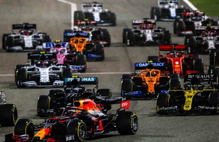 Eerste Formule 1 sprintrace op Silverstone