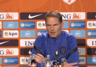 """De Boer: """"Tempo de hele wedstrijd hoog houden"""""""