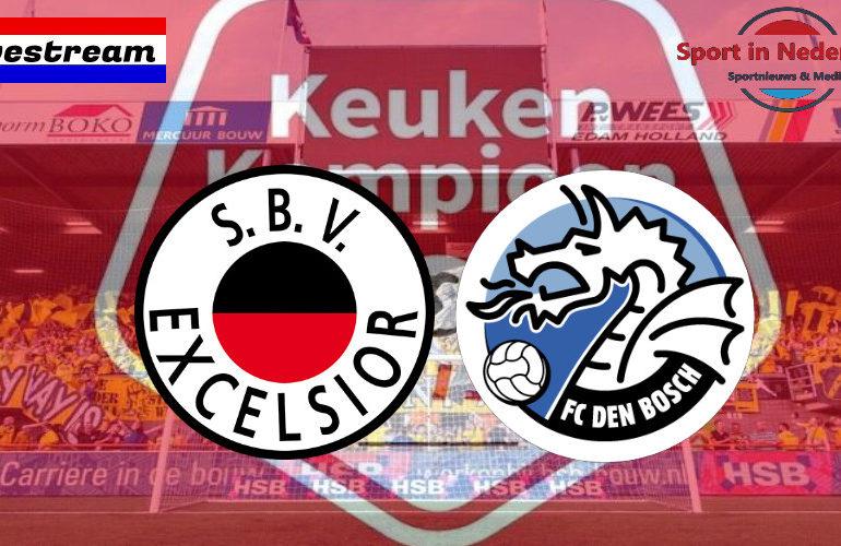 KKD livestream Excelsior - FC Den Bosch