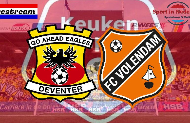KKD livestream Go Ahead Eagles - FC Volendam