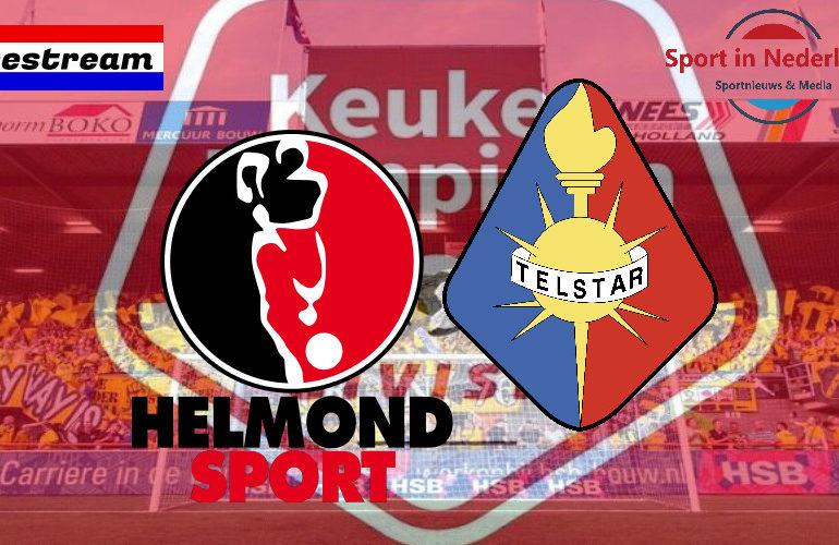 KKD livestream Helmond Sport - Telstar