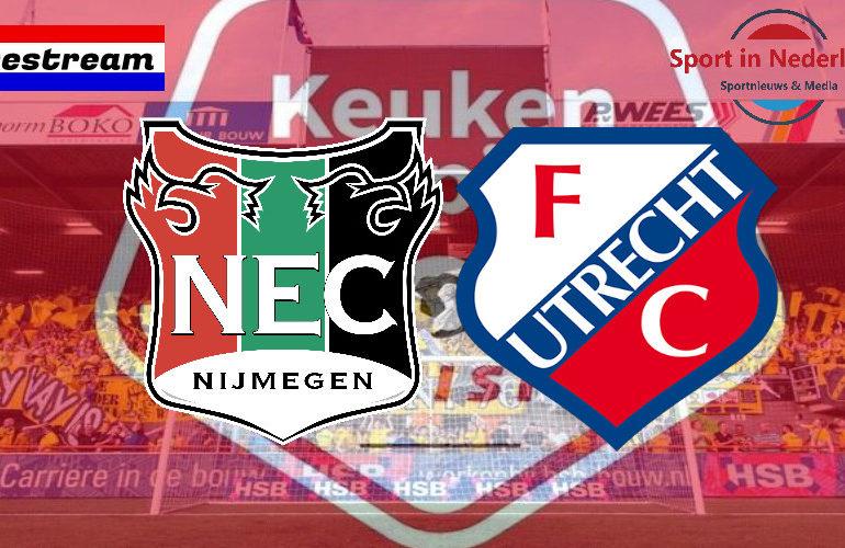 KKD livestream NEC - Jong FC Utrecht