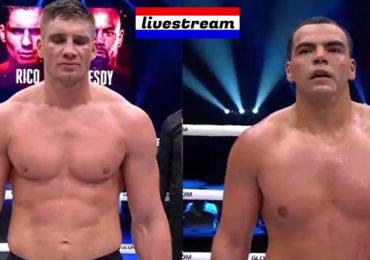 Livestream Rico Verhoeven vs Tarik Khbabez Glory 77