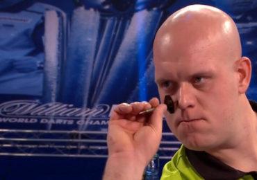 Van Gerwen in halve finale UK Open onderuit