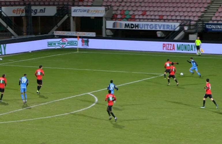 NEC na rust langs Jong FC Utrecht