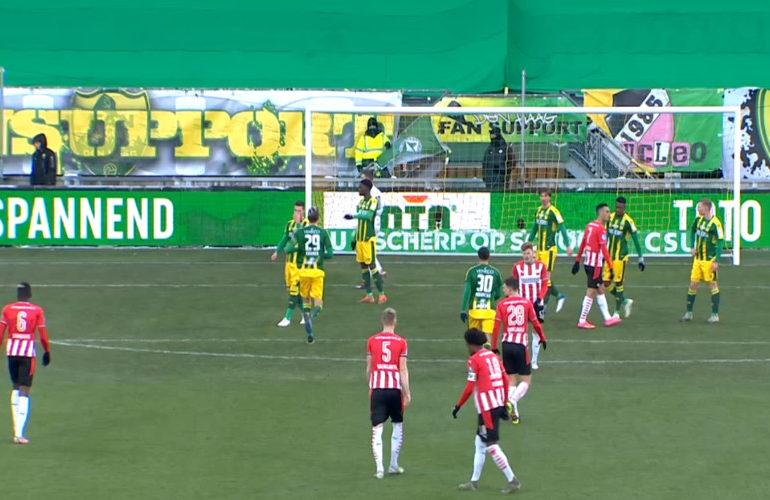 PSV geeft dure punten weg bij ADO