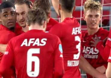 AZ ook thuis te sterk voor Feyenoord