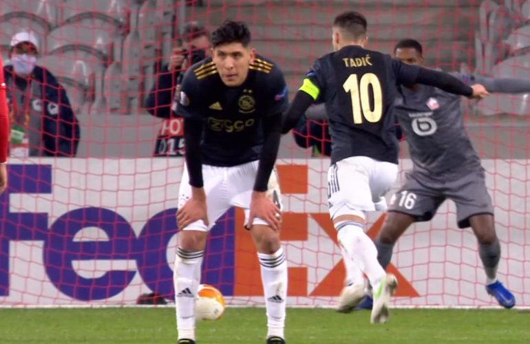 Ajax slaat in slotfase toe tegen Lille