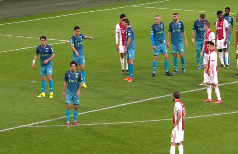 Ajax in de Johan Cruijff Arena te sterk voor Sparta
