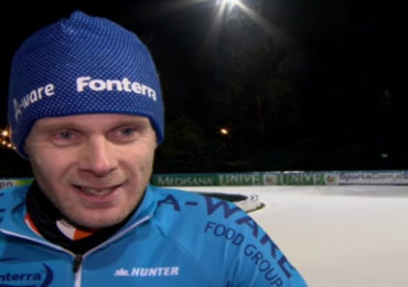 Arjan Stroetinga beëindigd schaatscarrière