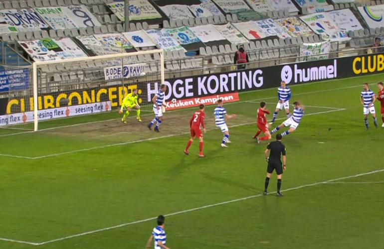 Duur puntverlies voor De Graafschap tegen Jong AZ
