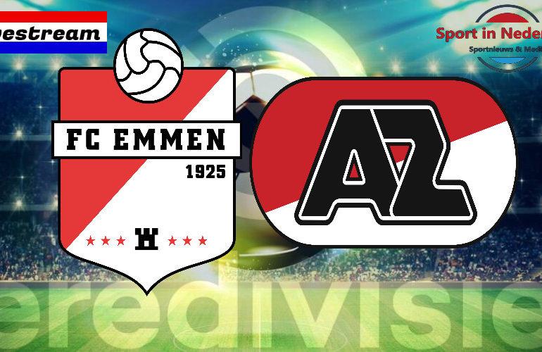 Eredivisie livestream FC Emmen - AZ Alkmaar