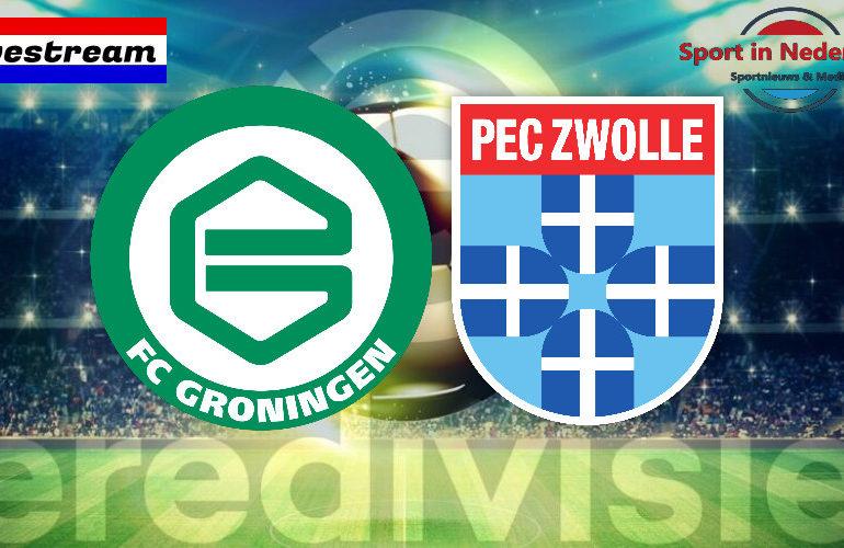 Eredivisie livestream FC Groningen - PEC Zwolle