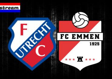 Eredivisie livestream FC Utrecht - FC Emmen