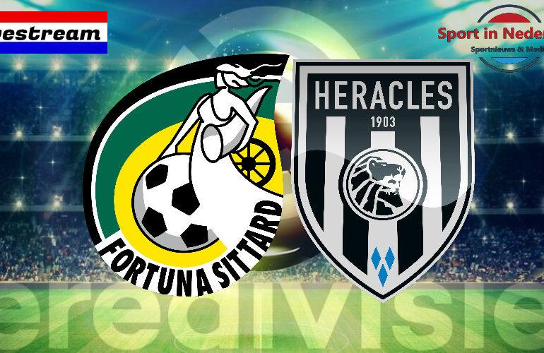 Eredivisie livestream Fortuna Sittard - Heracles Almelo