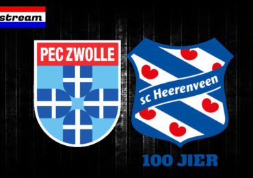 Eredivisie livestream PEC Zwolle - SC Heerenveen