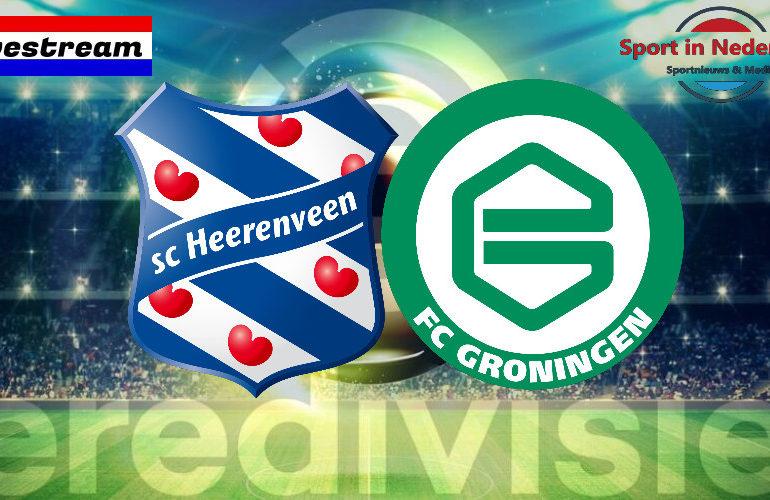 Eredivisie livestream SC Heerenveen - FC Groningen