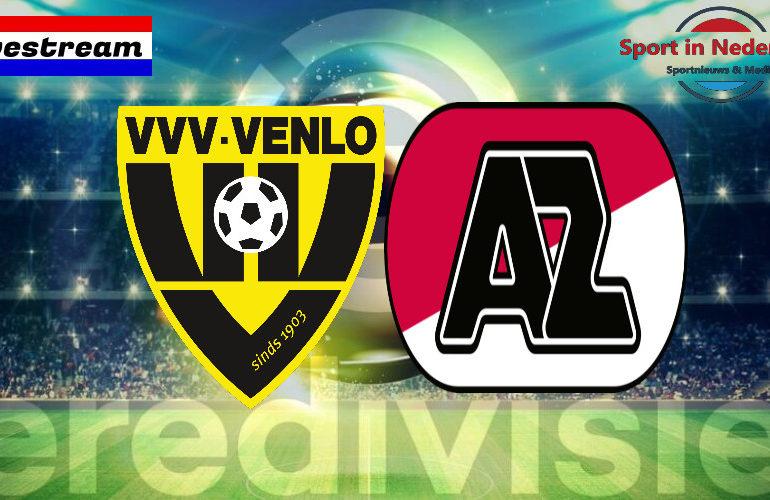 Eredivisie livestream VVV-Venlo - AZ Alkmaar