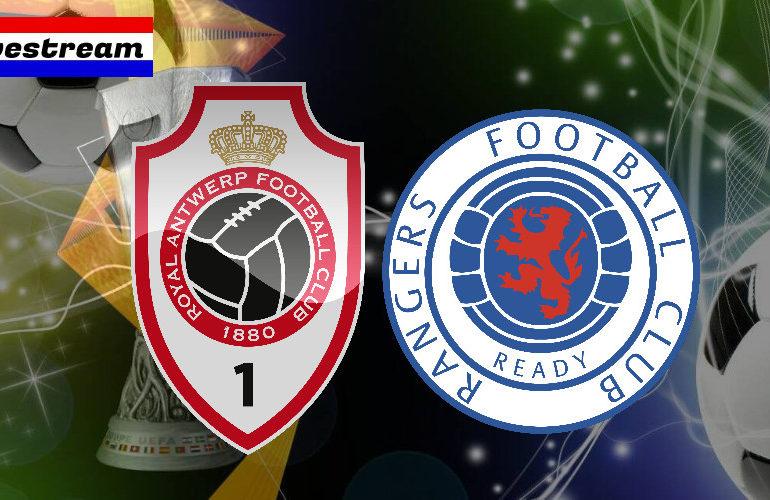 Europa League livestream Antwerp - Rangers