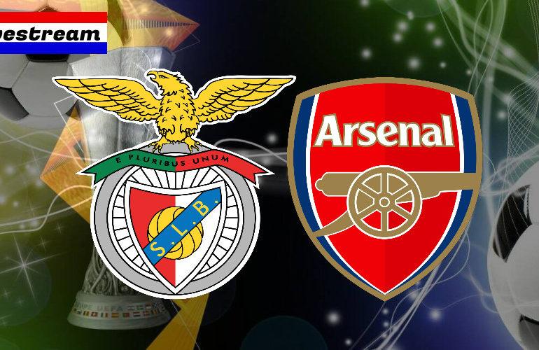 Europa League livestream Benfica - Arsenal