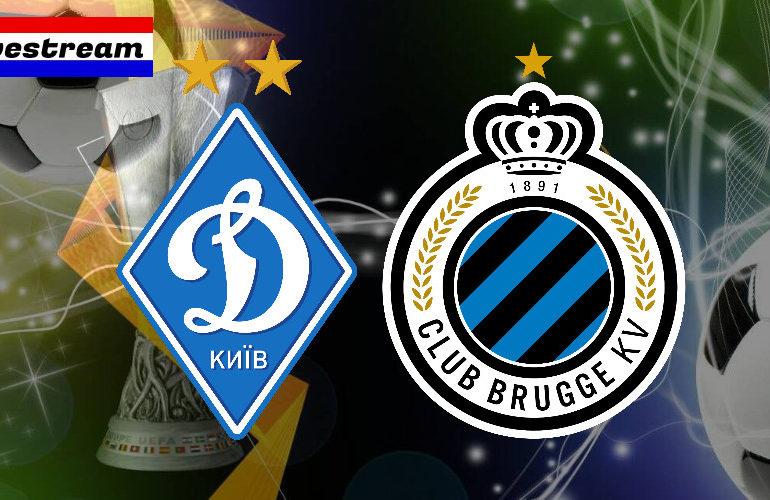 Europa League livestream Dinamo Kiev - Club Brugge