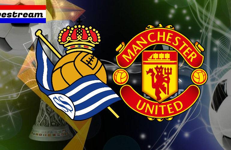 Europa League livestream Real Sociedad - Manchester United