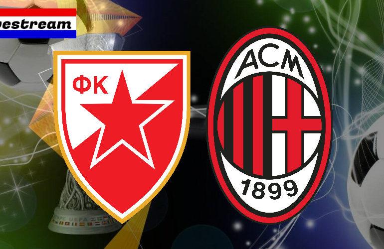 Europa League livestream Red Star Belgrado - AC Milan