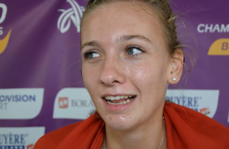 Femke Bol verbeterd voor derde keer op rij record