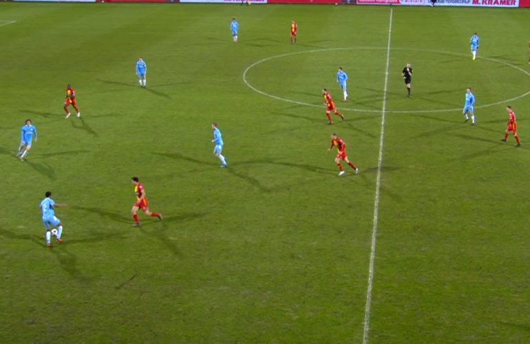 Beukema bezorgt Eagles drie punten tegen Jong PSV