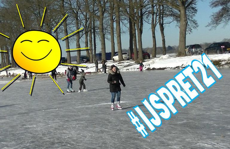 Winter in Nederland: Schaatsen in Hollandscheveld