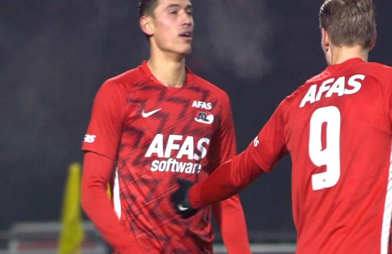 Jong AZ pakt drie punten tegen FC Eindhoven