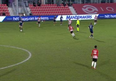 Jong PSV en Helmond Sport delen de punten