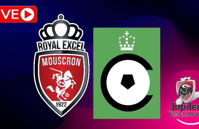 Livestream Royal Excel Mouscron - Cercle Brugge