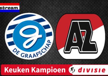 KKD livestream De Graafschap - Jong AZ