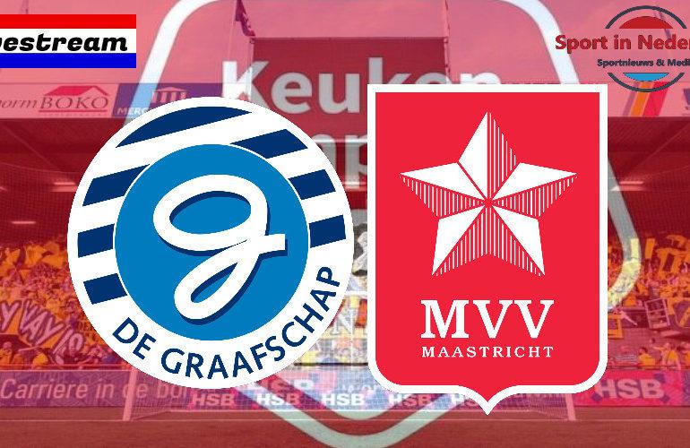 KKD livestream De Graafschap - MVV Maastricht