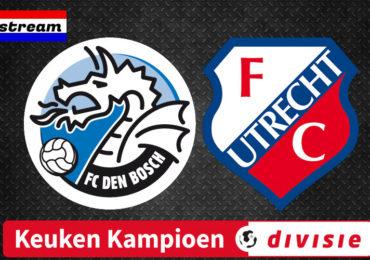 KKD livestream FC Den Bosch - Jong FC Utrecht