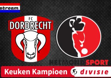 KKD livestream FC Dordrecht - Helmond Sport