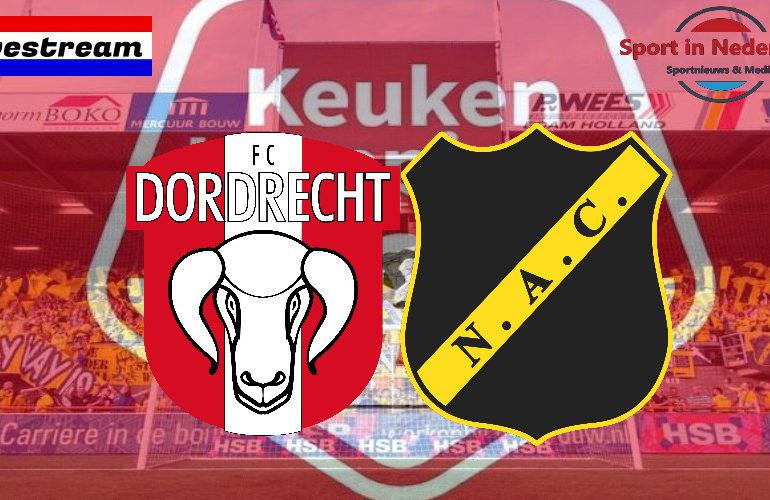 KKD livestream FC Dordrecht - NAC Breda