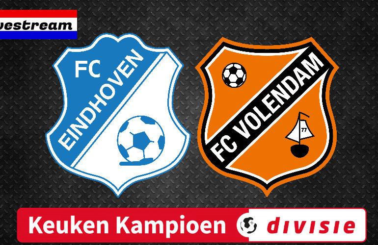 KKD livestream FC Eindhoven - FC Volendam