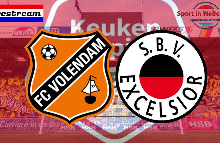 KKD livestream FC Volendam - Excelsior